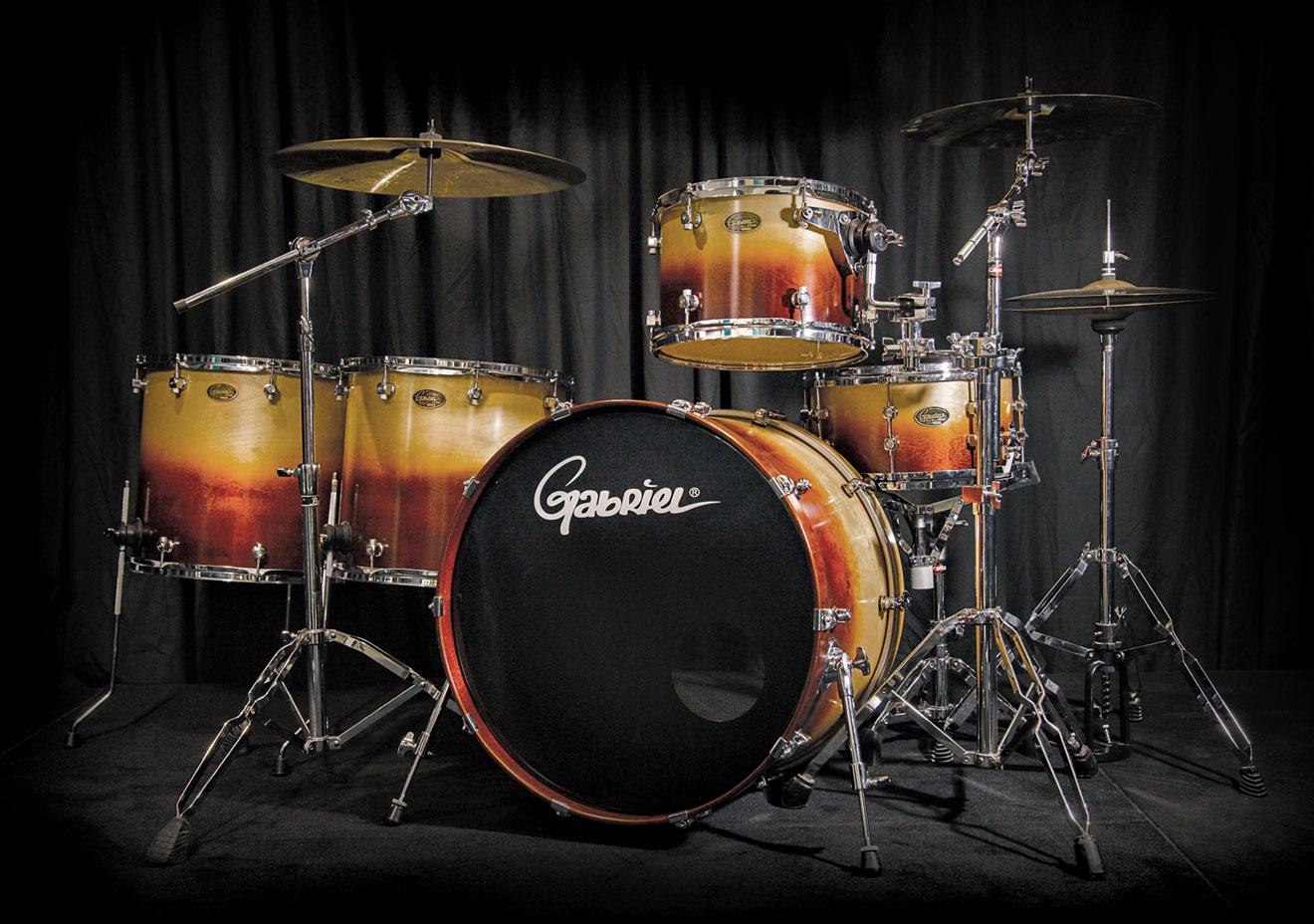 pro mini gabriel drum kit gabriel drums. Black Bedroom Furniture Sets. Home Design Ideas