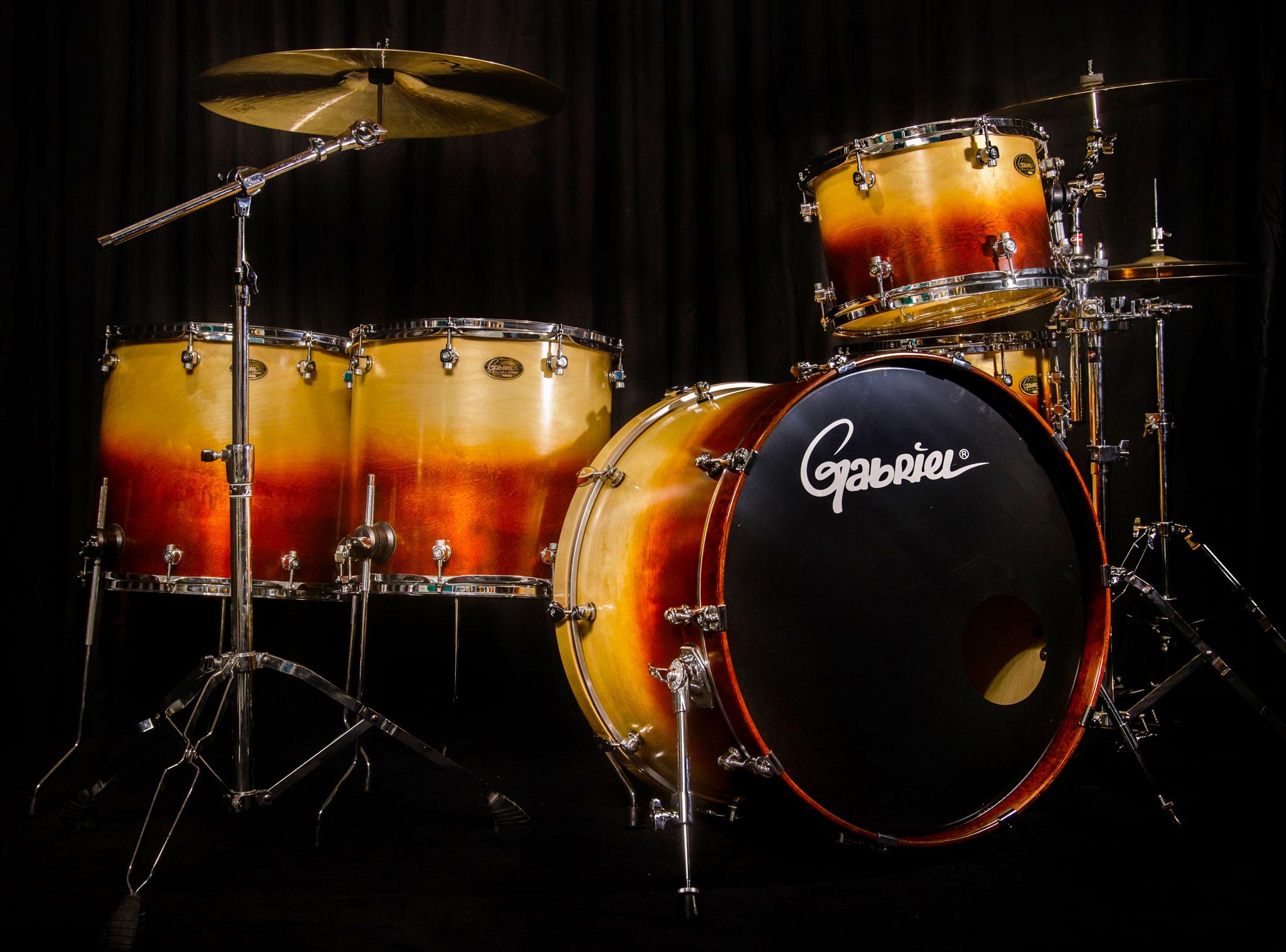 custom handmade drums gabriel drums. Black Bedroom Furniture Sets. Home Design Ideas